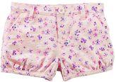 Osh Kosh Toddler Girl Floral Pattern Bubble Shorts