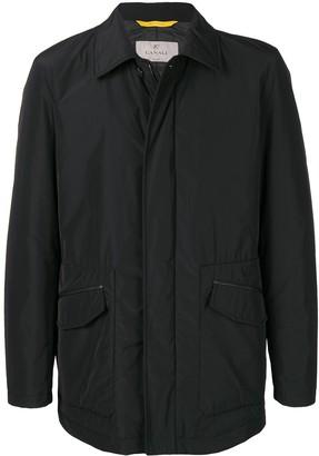 Canali nylon shirt jacket