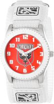 Game Time Men's MLS-ROW-DC Washington DC United Rookie White Round Analog Watch