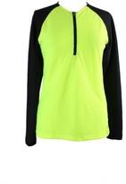 Lauren Ralph Lauren Womens Colorblock 1/2 Zip Shirts & Tops