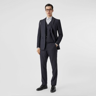 Burberry Classic Fit Wool Three-piece Suit