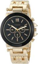 Vernier Women's VNR2364GS Enamel Look Bracelet Quartz Watch