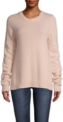 Nicole Miller Cashmere Crew Neck Sweater