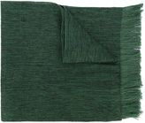 Issey Miyake fringed scarf - men - Silk/Cotton/Cupro - One Size