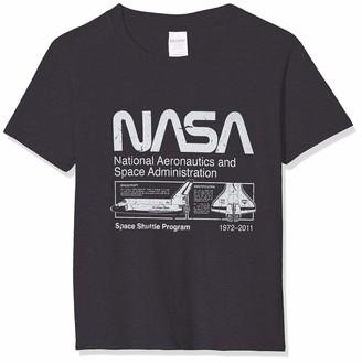 Brands In Limited Boy's NASA Space Shuttle Program T-Shirt