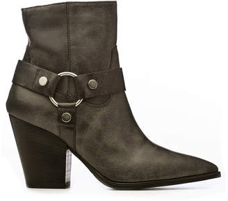 Janet & Janet Janet&janet Vintage Effect Ankle Boots