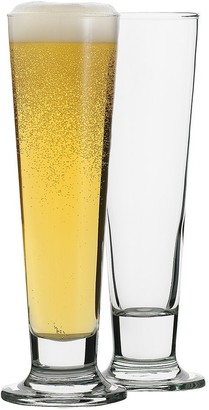Ecology Classic Beer Pilsner 4-Piece Glass Set 420ml Clear