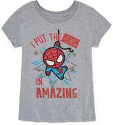 Spiderman 'Amazing' T-Shirt- Girls' 7-16