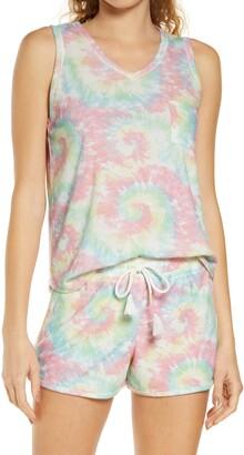 Emerson Road Tie Dye Women's Short Pajamas