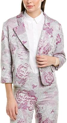 Anna Sui Peonies Jacket