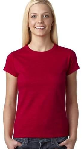 Gildan Ladies 4.5 oz. SoftStyle Junior Fit T-Shirt - 2XL