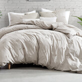 Thumbnail for your product : DKNY Textured Fringe Duvet Cover - Natural - King