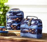 Pottery Barn Kids Mackenzie Blue Shark Lunch Bags
