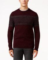 Tasso Elba Men's Wool Blend Pattern Sweater, Only at Macy's