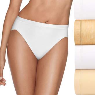 Hanes Ultimate Cool Comfort 4-pc. Microfiber High Cut Panty Hxmfhc