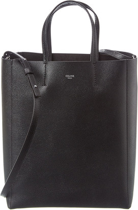 Celine Small Cabas Grained Leather Tote