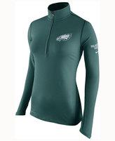 Nike Women's Philadelphia Eagles Tailgate Element Quarter-Zip Pullover