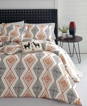Vera Wang Azalea Skye Cusco Duvet Set, Full/Queen Bedding