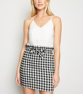 New Look Cameo Rose Gingham 2 in 1 Dress
