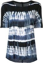 Raquel Allegra tie dye T-shirt - women - Rayon - 0