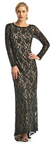 NW Collections Long Lace Gown