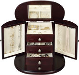 MONET JEWELRY Monet Jewelry Chestnut Jewelry Box