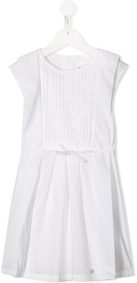 Boss Kids Bow-Embellished Cotton Dress