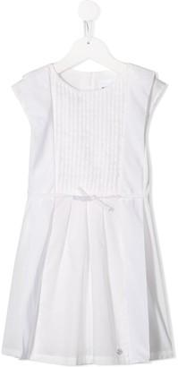 Boss Kidswear Bow-Embellished Cotton Dress