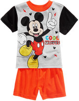 Mickey Mouse 2-Pc. Cool Moves Pajama Set, Toddler Boys (2T-4T)