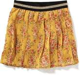 Old Navy Pleated Floral-Chiffon Mini for Girls