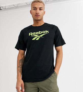 Reebok classics vector print tee-Black