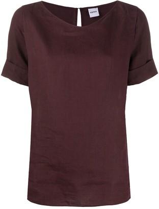 Aspesi Short-Sleeved Linen Top