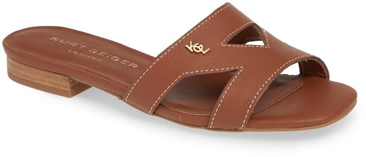 785d2eb56ea London Odina Cutout Slide Sandal