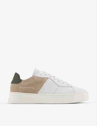 Filling Pieces Low Plain Court leather low-top trainers