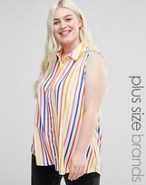 Koko Plus Shirt In Candy Stripe