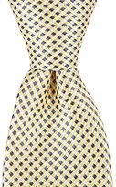 "Class Club 50"" Textured Plaid Neat Tie"