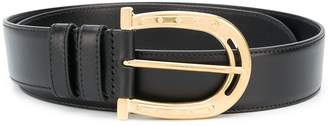 Miu Miu horseshoe buckle belt