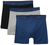 Lucky Brand Solid Boxer Brief - Pack of 3
