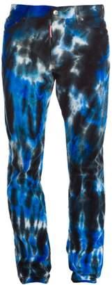 DSQUARED2 Cool Guy Stretch Tie Dye Corduroy Pants