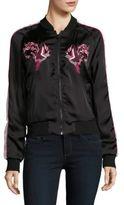 Buffalo David Bitton Embroidered Track Jacket