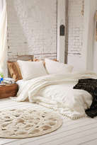 Urban Outfitters Magical Thinking Pom-Fringe Duvet Cover