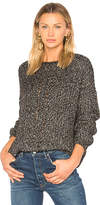 Charli Yori Melange Sweater in Black.