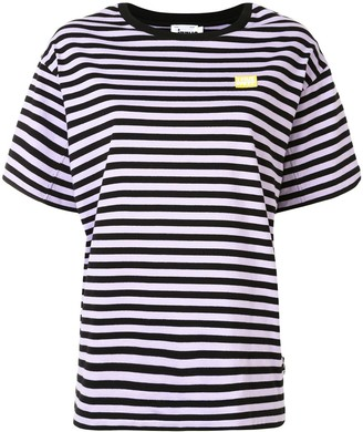 Izzue Reserved striped T-shirt