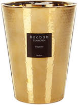 Baobab Collection Electrum Scented Candle - Khephren Gold - 24cm