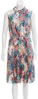 LK Bennett Pleated Midi Dress