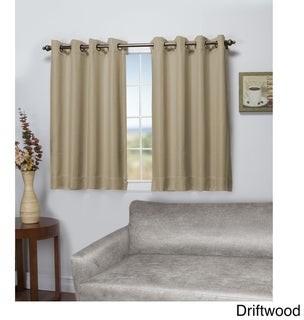 Ricardo Tacoma Double-Blackout Grommet Curtain Panel - Short Length
