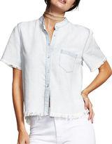 DL1961 Montauk Cropped Hem Shirt