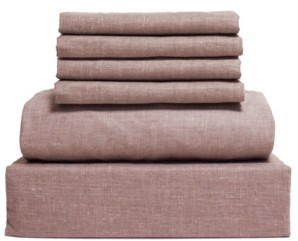 Lintex Chambray 6-Piece Sheet Set, Size- Full Bedding