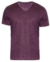 Vince V-neck Linen T-shirt