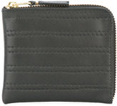 Comme des Garcons embossed stitch wallet - men - Leather - One Size
